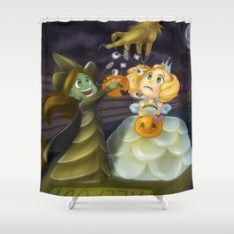 Free Candy! Shower Curtain