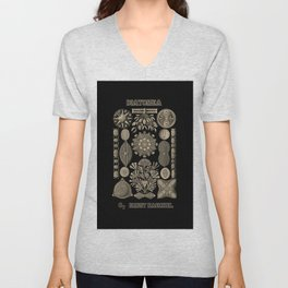 """""""Diatomea"""" from """"Art Forms of Nature"""" by Ernst Haeckel Unisex V-Neck"""