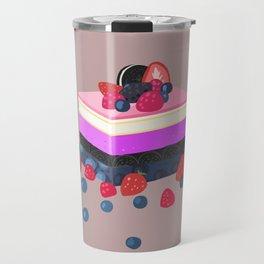 genderfluid layered cake dessert Travel Mug