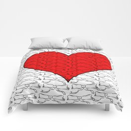 Heart of Laces Comforters
