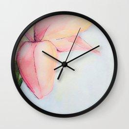 WATERCOLOR NO 1 Wall Clock