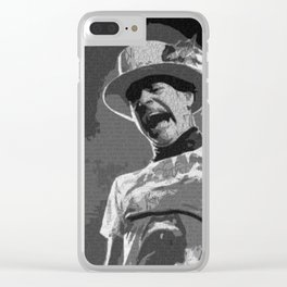 Ahead by a Century - Gord Downie from the Tragically Hip Clear iPhone Case