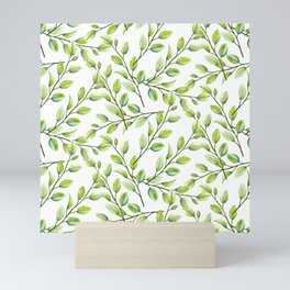 Branches and Leaves Mini Art Print