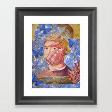 SALVATOR MUNDI Framed Art Print