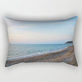 Greek Beach Rectangular Pillow