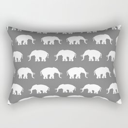 Elephants Rectangular Pillow