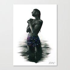 Crystal Lake. Canvas Print