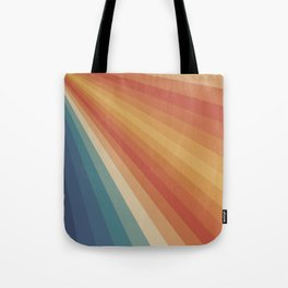 Retro 70s Sunrays Tote Bag