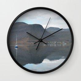 Skutulsfjörður Wall Clock