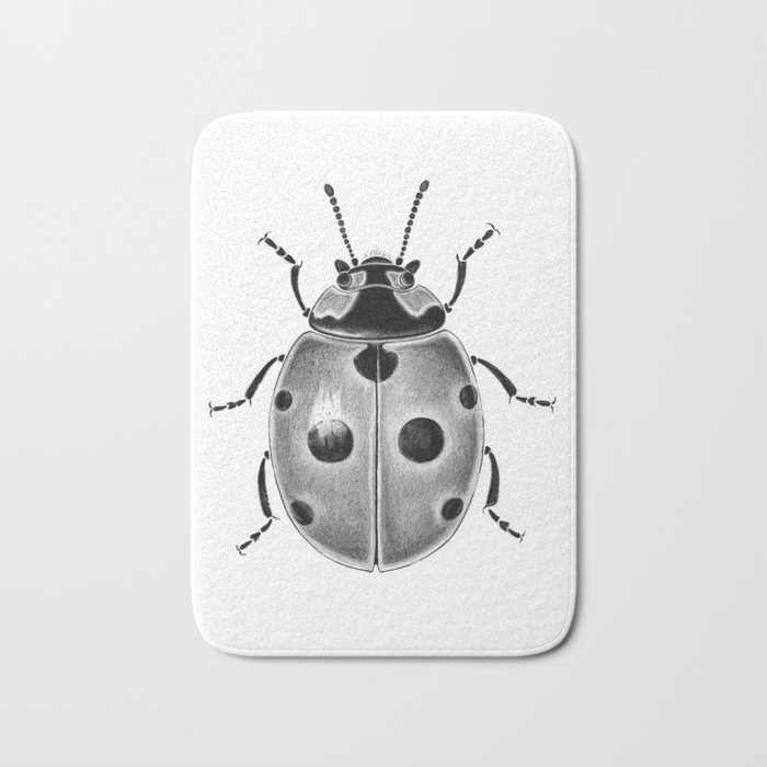Beetle 03 Bath Mat