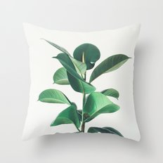 Rubber Fig Throw Pillow