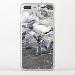 More Please Mum Clear iPhone Case