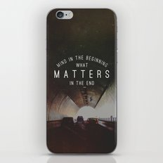 Mind What Matters iPhone & iPod Skin
