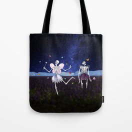 Death Fairy and her helper Tote Bag