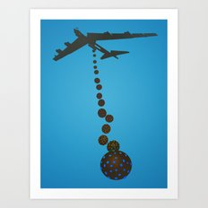 Chocolate Bombs Art Print
