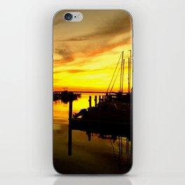 sailor sunset iPhone Skin