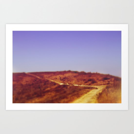 Around the Bend - Channel Islands Art Print