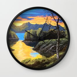 """Psalm 46:10 """"Be still and know that I am God..."""" Wall Clock"""