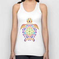 turtle Tank Tops featuring Turtle by ArtLovePassion