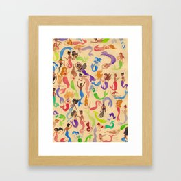 Mermaids Framed Art Print