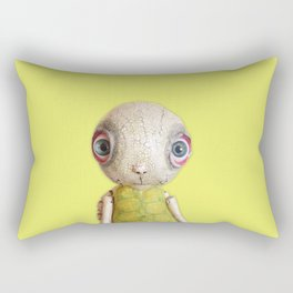 Sheldon The Turtle - Green Rectangular Pillow