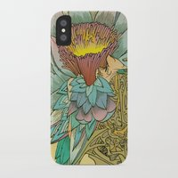 writer iPhone & iPod Cases featuring The Writer by Theo Szczepanski