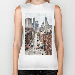 New york City USA Biker Tank