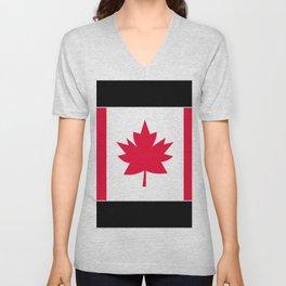 Canada , flag Unisex V-Neck