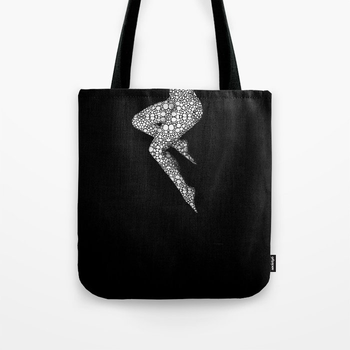 Suspended 2 - Nude Art By Sharon Cummings Tote Bag