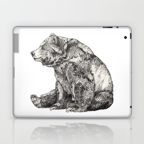 Bear // Graphite Laptop & iPad Skin