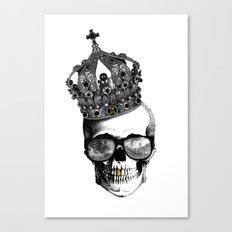 King skull Canvas Print