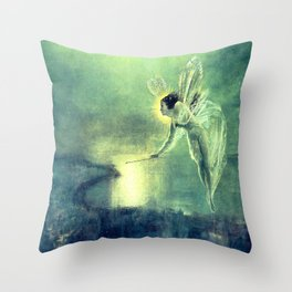 Spirit Of the Night by John Atkinson Grimshaw Throw Pillow