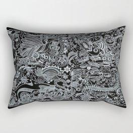 Ancient Figures II Rectangular Pillow