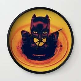"""stories from the sink: """"someone called me!"""" Wall Clock"""