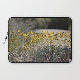 Brittle Bush 2 At .... Wildlife Preserve Laptop Sleeve