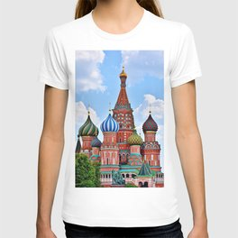 St. Basil's Cathedral (color) T-shirt