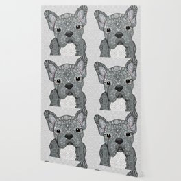 Gray Frenchie 001 Wallpaper
