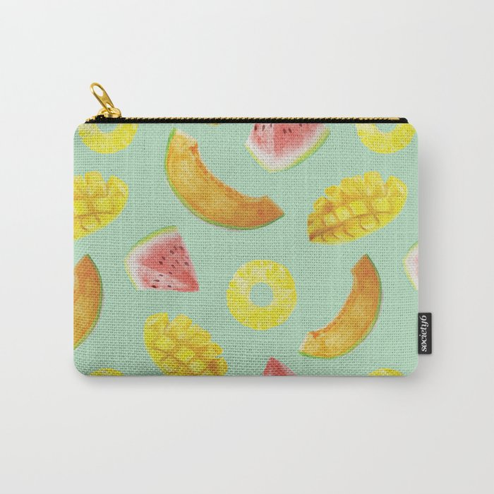 Nature's Candy Pattern Carry-All Pouch