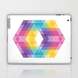 Fig. 019 Colorful Geometric Shapes Laptop & iPad Skin