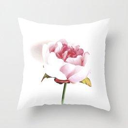 Peony Blush Throw Pillow