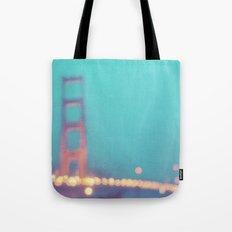 la nuit. San Francisco Golden Gate Bridge photograph Tote Bag