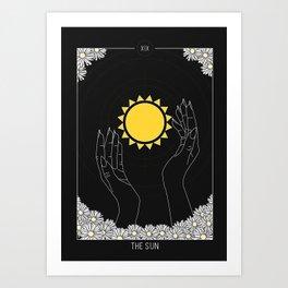 The Sun - Tarot Illustration Art Print