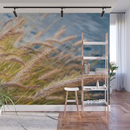 Lakeside Grass Wall Mural
