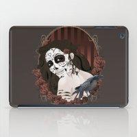 dia de los muertos iPad Cases featuring Dia de los Muertos by Kretly