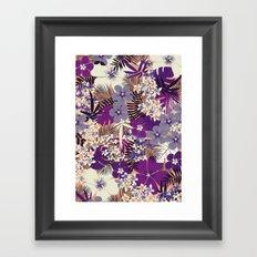 Floral 1 Framed Art Print