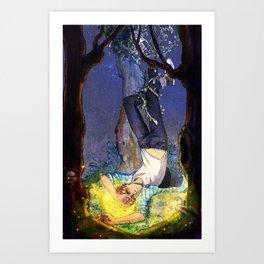 The hangedman Art Print