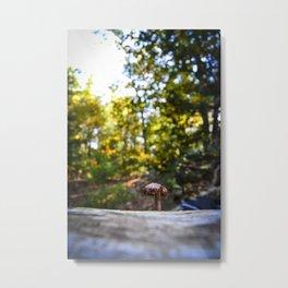 Portrait of a Shroom Metal Print