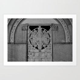 Closing Gate Art Print