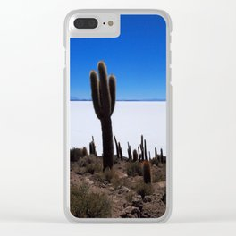 Salar de Uyuni 2 Clear iPhone Case