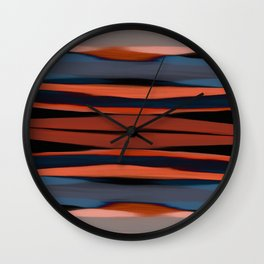 African Sunset Wall Clock